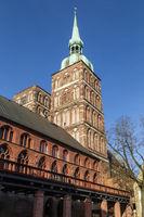 Nikolaikirche, Stralsund, Deutschland, St. Nicholas Church, Stralsund, Germany