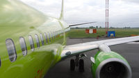 Boeing S7 before departure
