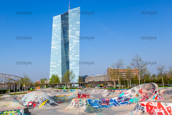 Frankfurt am Main, Europäische Zentralbank.