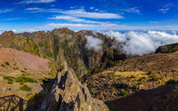 Pico do Arierio and Pico Ruivo - Madeira Portugal