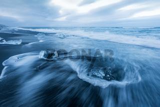 Black Diomand Strand Island