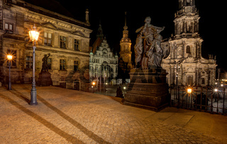 Dresden Cathedral -  Cathedral of the Holy Trinity - Catholic Church of the Royal Court of Saxony - Katholische Hofkirche.