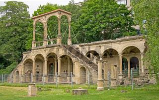 Ruine des Neuen  Lusthauses Stuttgart