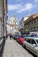 Straßenzug in Prag