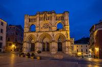 Santa Maria and San Julian Cathedral of Cuenca, Spain.