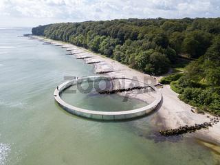 The Infinity Bridge in Aarhus, Denmark