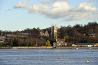 view across the river medway kent