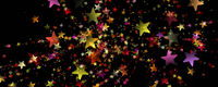 Wonderful Christmas background design illustration with stars