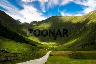 Altfasstal in den Dolomiten