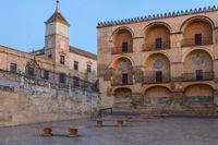 Historische Gebäude in der Alstadt von Cordoba, Andalusien, Spanien, Europa