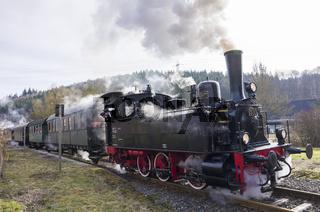 Dampflokomotive Württemberg T3