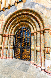 Gate of the Assumption Cathedral of Moscow Kremlin