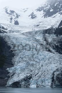 Glacier At College Fjord, Prince William Sound, Alaska