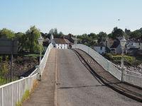 Old Wye Bridge in Chepstow