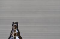 Flasche Bier aus Glas