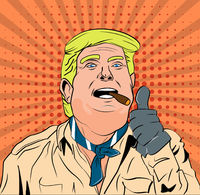 Trump Gives A Big Thumbs Up