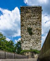 Burgfried Burg Pappehein