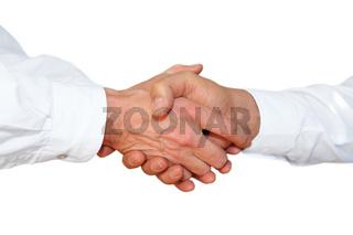 Gestenserie: Haendedruck, Handschlag