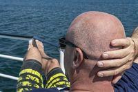 Glatzkopf Rückansicht