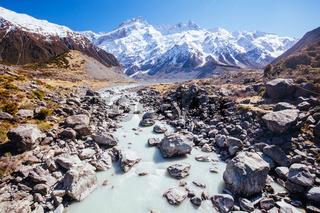 Hooker Valley Track Mt Cook New Zealand