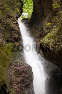 Bayrischer Wasserfall 003. Deutschland