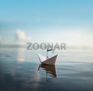 Sail away - Paper Boat
