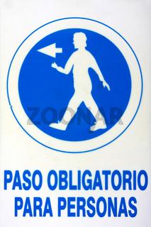 Schilder in Andalusien. 001
