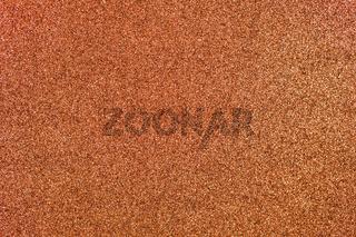 Copper Glitter Background
