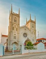 Church of St Francis Xavier. Melaka, Malaysia