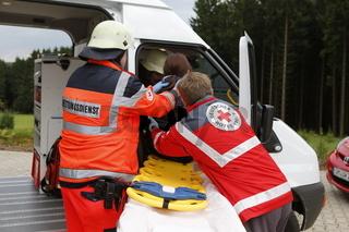 DRK Rettungsübung