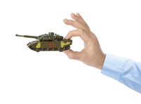 Hand with panzer