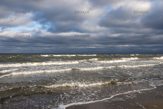 Meer im Winter, sea in wintertime