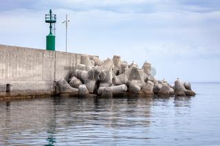 milazzo sicily italy sea view