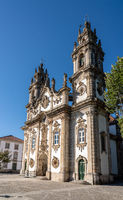 Our Lady of Remedies church above the city of Lamego in north Portugal