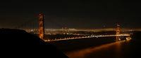 Golden Gate bei Nacht