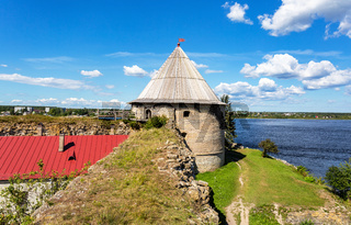 Historical fortress Oreshek is an ancient Russian fortress