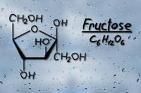 Structural model of Fructose
