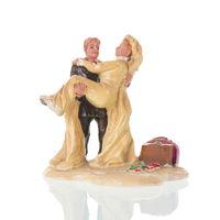 Vintage wedding cake figurines