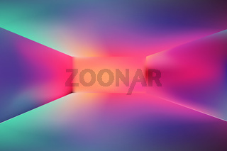 horizontal wide multicolored blurred background. Sunset and sunrise sea blurred background
