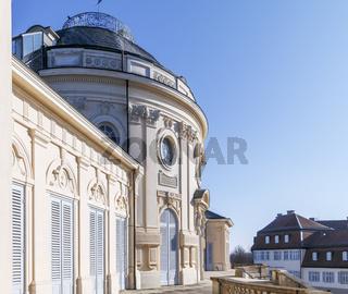 Schloss Solitude, Südseite, Beletage, Hauptschloss, Stuttgart, BW, November