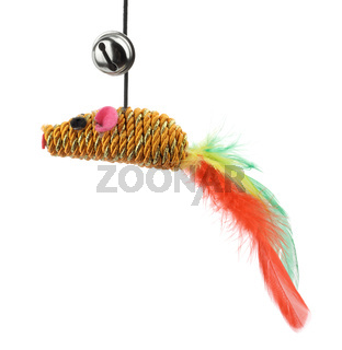 Funny cat toy feather mouse