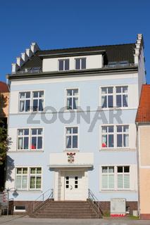 Blaues Altstadthaus