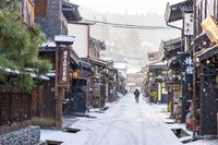 Takayama the ancient town in Gifu Prefecture, Japan
