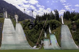 Skisprungschanzen Oberstdorf, Allgäu
