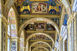 The Raphael Loggias The Hermitage Museum  St. Petersburg Russia