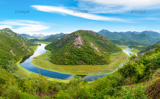 View of Rijeka Crnojevica