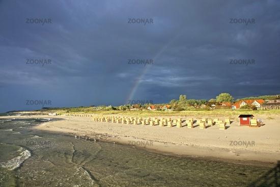 Strand in Wustrow auf dem Darß