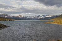 Sjodalsvatnet  auf dem Bergplateau der Valdresflya