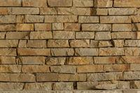 Brick wall texture background at close range