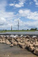 CAMBODIA ANLONG VENG TA MOK LAKE LANDSCAPE